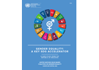 Gender Equality: A Key SDG Accelerator, a case study from the Republic of Moldova