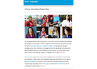 UN Women Europe and Central Asia Quarterly Newsletter