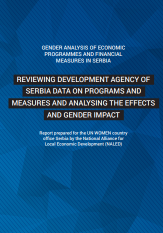 Reviewing Development Agency of Serbia data on programs and measures and analysing the effects and gender impact