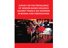 Survey on the prevalence of gender-based violence against female sex workers in Bosnia and Herzegovina