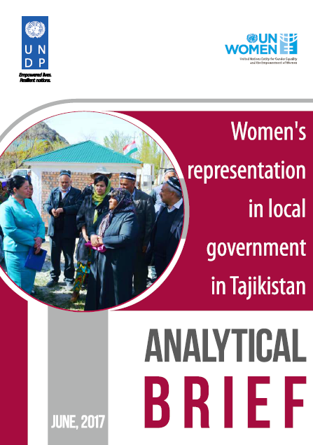 Women's Representation in Local Government in Tajikistan