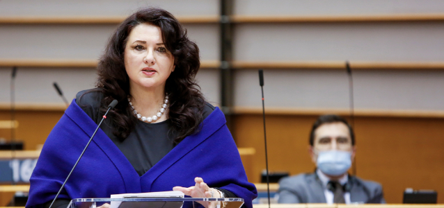 Helena Dalli, the first European Commissioner for Equality. Photo: European Commission
