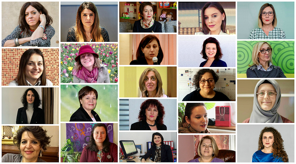 Women Activists in the Western Balkans and Turkey
