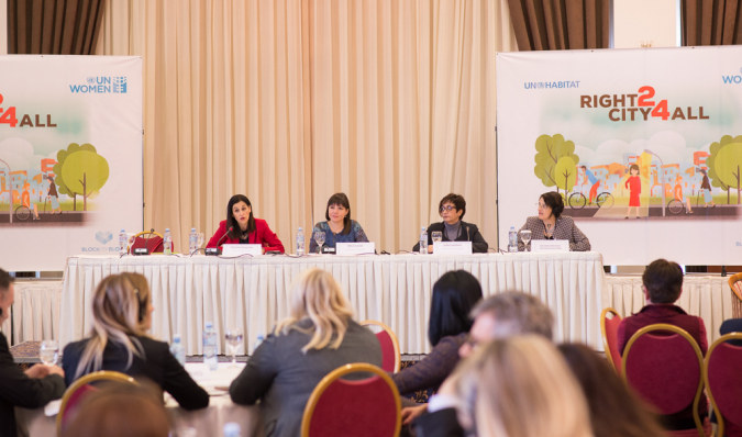 Skopje's Right to City for All conference puts women and girls' safety first