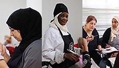 From refugees to master chefs