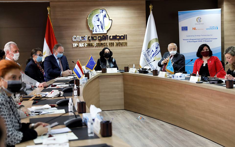 Photos: Courtesy of the National Council of Women/Ossama Magdy