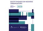 Egypt Women on Boards Observatory: 2020 Annual Monitoring Report