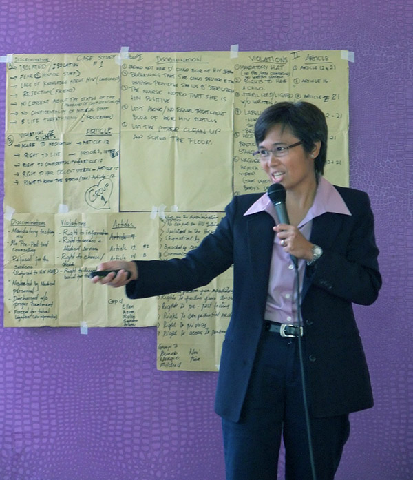 UN Women and UNAIDS empower HIV-positive women leaders to claim their rights in the Philippines