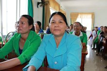 Strengthening women's response to climate change: empowering grassroots women to cope with natural disasters