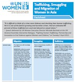 Factsheet Trafficking, Smuggling and Migration of Women in Asia