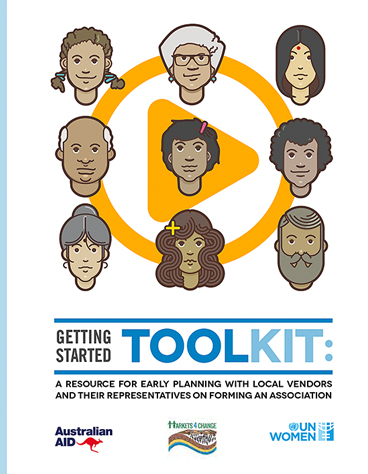 "Toolkit - ""Getting Started - Market Vendors Associations"""