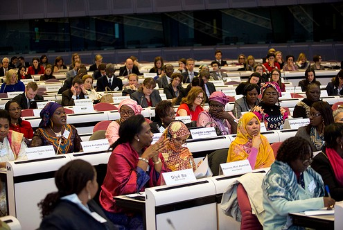 Sahel Conference says women's full participation essential to conflict resolution and economic recovery