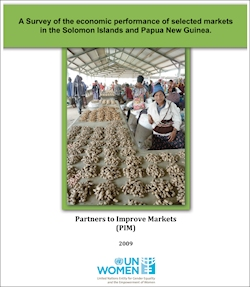A Survey of the economic performance of selected markets in the Solomon Islands and Papua New Guinea
