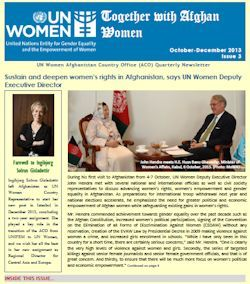 UN Women Afghanistan Newsletter