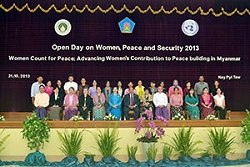 In Myanmar, efforts to bring women to the centre of peacebuilding
