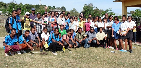 Timor-Leste's women parliamentarians engage with rural women on issues of peace and security, past and present