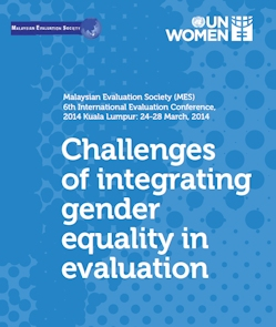 Challenges of integrating gender equality in evaluation