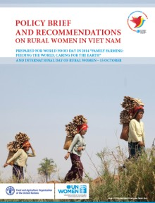 Policy Brief and Recommendations on Rural Women in Viet Nam