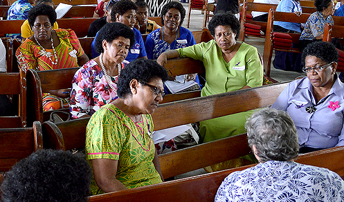 Pacific Fund grantee House of Sarah's Breaking the Silence Sunday in Suva. Photo: UN Women/Ayako Ioroi.