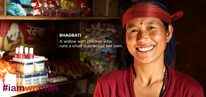 Bhagbati  A widow with children who runs a small business of her own.