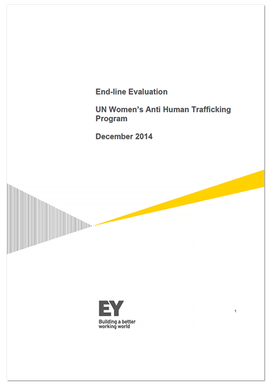 End-line Evaluation - UN Women's Anti Human Trafficking Program (India)