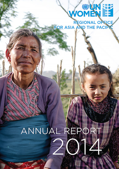 LOOKING TO A BRIGHTER FUTURE: Progress for Women and Girls in Asia and the Pacific in 2014