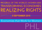 "UN Women Chief leads Philippines dialogue on ""Economies that Work for Women"""