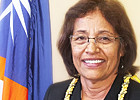 Dr Hilda Heine: First woman to lead an independent Pacific nation