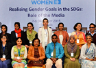 South Asia journalists discuss gender sensitivity in covering development stories