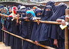 Women voters at Rohingya camp