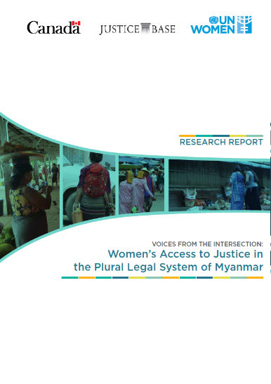 Women's Access to Justice in the Plural Legal Systems of Myanmar