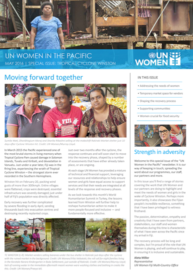 UN Women in the Pacific Newsletters