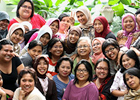 Paving a path towards equality, with greater voice to grass-roots women