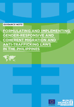 Formulating and Implementing Gender-Responsive and Coherent Migration and Anti-Trafficking Laws in The Philippines