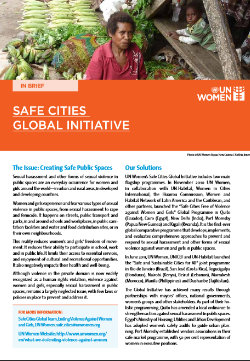 In Brief - Safe Cities Global Initiative