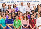 From the Margins to the Center: Step it Up for Women and Girls in Myanmar's Peace Process