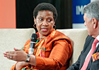 """Ending violence against women requires that key institutions work together""—Executive Director Phumzile Mlambo-Ngcuka in India"