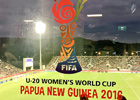At FIFA football final in Papua New Guinea, thousands of fans say no to violence against women