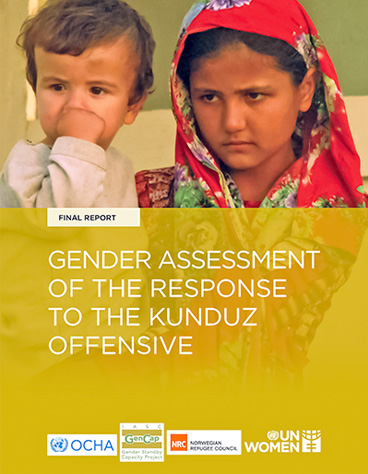 Gender assessment of the response to the Kunduz offensive