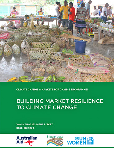 Building Market Resilience to Climate Change | Vanuatu