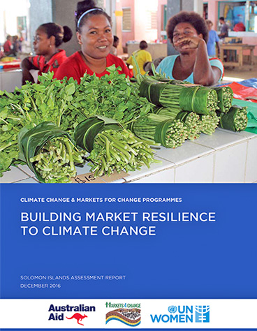 Building Market Resilience to Climate Change | Solomon Islands