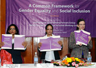 The International Development Partner's Group(IDPG) jointly co-chaired by UN Women and USAID launches a common GESI framework