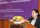 """Speech: Launch of """"A Common Framework for Gender Equality and Social Inclusion"""""""