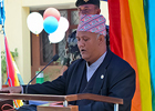 The United Nations and the Blue Diamond Society in Nepal, jointly celebrate the International Day Against Homophobia, Transphobia and Biphobia and the International Family Equality Day