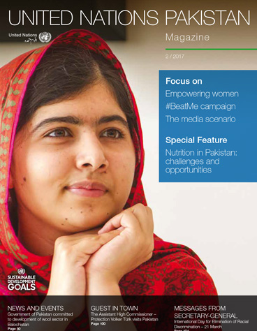 United Nations Pakistan - Magazine 2/2017