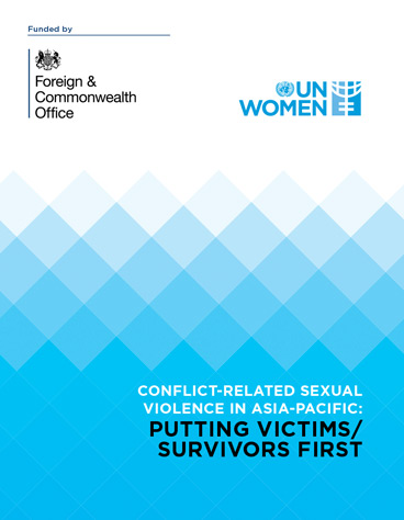 Conflict-related Sexual Violence in Asia-Pacific: Putting Victims/Survivors First