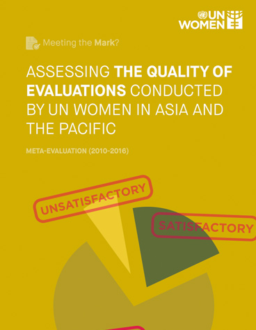 Assessing the Quality of Evaluations Conducted by UN Women in the Asia and the Pacific Region