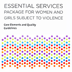 Essential services package for women and girls subject to violence