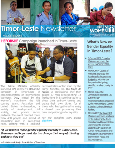 UN Women Timor-Leste Newsletter