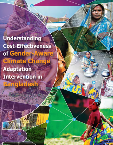 Understanding Cost-Effectiveness of Gender-Aware Climate Change Adaptation Intervention in Bangladesh
